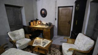копия бункера Гитлера, выставка