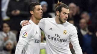 Ronaldo na Gareth Bale