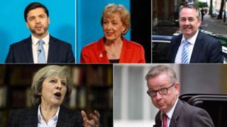 Кандидаты на пост лидера консерваторов