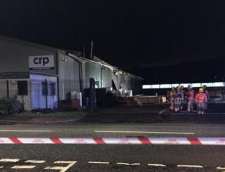 Explosion causes damage at CRP