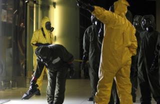 Teams sweep Kuala Lumpur airport for VX traces after the killing