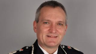 Chief Constable of the Isle of Man Constabulary Gary Roberts