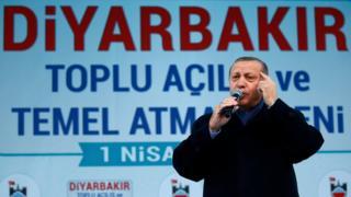 Cumhurbaşkanı Erdoğan Diyarbakır'da