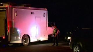 پلیس در محل حادثه