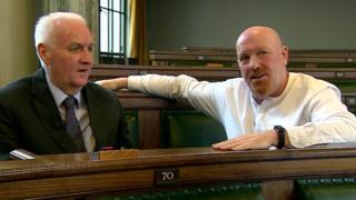 Tony Jones and John Fillis