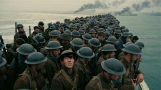 Dunkirk filminden bir sahne
