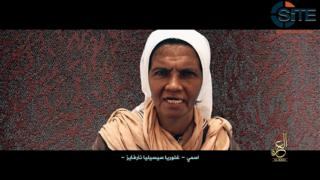 Gloria Cecilia Narváez en el video recién difundido por Al Qaeda.