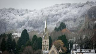 Деревня на западе Англии
