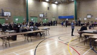 Daventry District Council election count