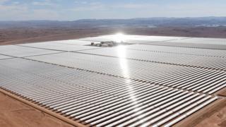 محطة ضخمة للطاقة الشمسية في أفريقيا قد تمد أوروبا بالطاقة