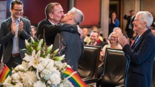 ازدواج همجنسگرایان