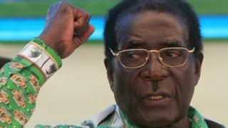 Mr Mugabe still remains for di capital, Harare, and dey say e no get any plans to leave di country.