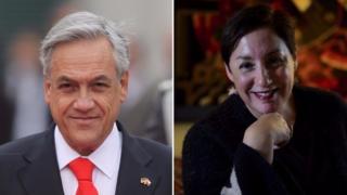 Sebastián Piñera y Beatriz Sánchez