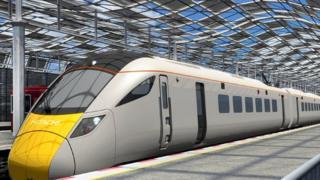 Hitachi electric train