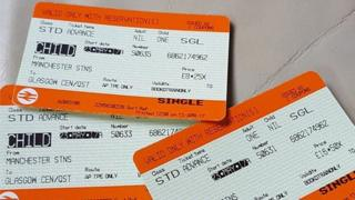 Manchester train tickets