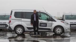 UberWav vehicles