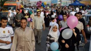 ประชากรชายหญิงในประเทศตะวันออกกลาง