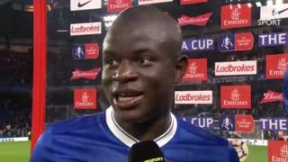 N'Golo Kante dan wasan Faransa da Chelsea