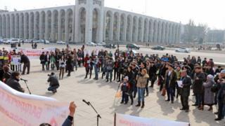 Кыргызстандагы митингдер