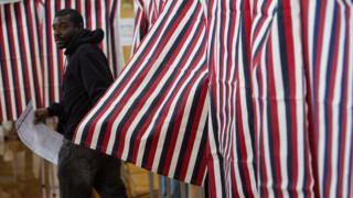 New Hampshire voter