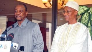 Alpha condé et Cellou Dalein Diallo ont notamment discuté de la non-application de certains points des accords issus des différents dialogues tenus en Guinée.