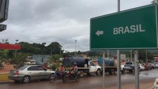 Fronteira com o Brasil