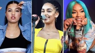 Brits Critics' Choice nominees (L-R): Mabel, Jorja Smith and Stefflon Don