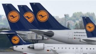Lufthansa aircraft. File photo
