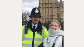 PC Keith Palmer va Staci Martin