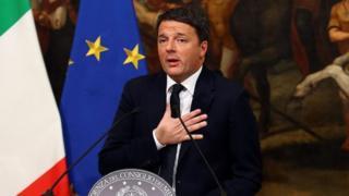 Matteo Renzi amekuwa waziri mkuu wa Italia tokea mwaka 2014-2016
