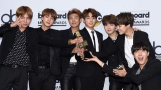 BTS after their win