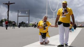 В Фатиму на этой неделе прибудут сотни тысяч паломников