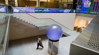 внутри лондонской биржи