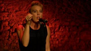 YouTube screengrab of Barbara Weldens