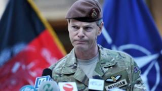 布拉德肖將軍認為與俄國發生軍事衝突是災難性的