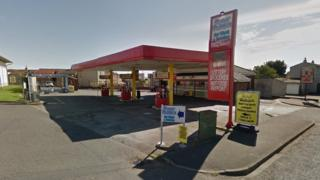 Auchenharvie filling station