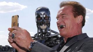 Arnold Schwarzenegger ve Terminator