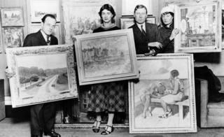 Elwin Hawthorne, Phyllis Bray, John Cooper, Brynhild Parker