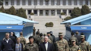 Korea. Tillerson,