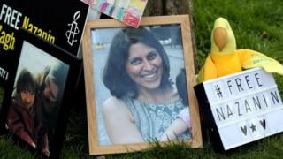 A photo of Nazanin Zaghari-Ratcliffe, at Fortune Green, West Hampstead