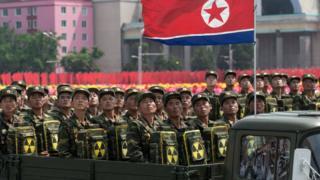 Парад в Пхеньяне
