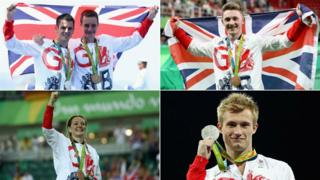 Jonny and Alistair Brownlee, Nile Wilson, Jack Laugher, Katy Marchant