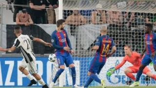 دوري أبطال أوروبا: يوفنتوس يهزم برشلونة بثلاثة أهداف نظيفة