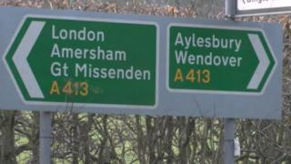 The officers had been called to the scene of a crash near Great Missenden