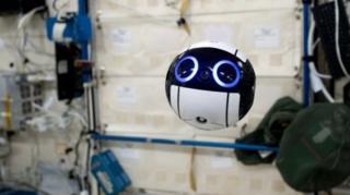 """""""ลูกบอลน้อยน่ารัก"""" โดรนอวกาศตัวล่าสุดของญี่ปุ่น"""