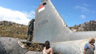 pesawat, au, indonesia