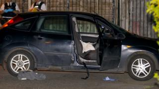 The car in which the murdered man had been travelling
