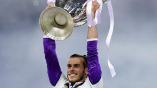 Gareth Bale da Kofin Zakarun Turai