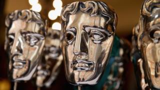 Bafta Awards trophies