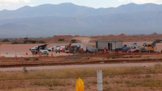 Terreno onde seria erguida a fábrica mexicana da Ford